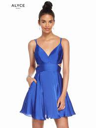 V Neck Alyce Paris Homecoming Dress 4117