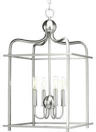 carmen 4 light pendant black brushed nickel assembly hall transitional lighting by home design 4 pendant light