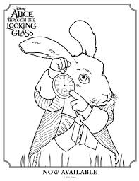 Small Picture Alice in Wonderland Colouring Pages