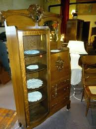 secretary desk with bookcase antique oak side side secretary desk on intended for oak office bookcase secretary desk with bookcase antique