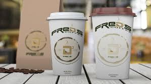 Chez french coffee shop, nous innovons et recherchons sans cesse à surprendre et séduire nos clients et ce, tout en conservant les recettes cultes qui ont fait notre succès et conquis le cœur de. Fred S Coffee Mockup Coffee Shop Logo Coffee Logo Coffee Shop