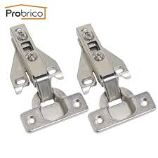overlay cabinet hinges. Probrico 4 Pair Face Frame Kitchen Cabinet Hinges Iron CHHS09GA Furniture Full Overlay Concealed Cupboard Door N