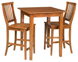 stylish bistro table chairs indoor arts and crafts 3 piece bistro set black finish transitional