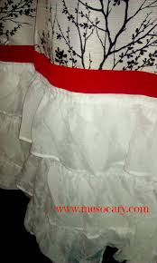 Diy No Sew Curtains Diy Easy No Sew Holiday Curtains