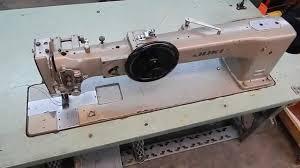 Juki LG 158 Long Arm Walking Foot Industrial Sewing Machine - YouTube &  Adamdwight.com