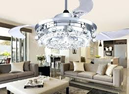 ceiling fan with chandelier india led crystal chandeliers fans