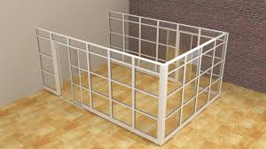Modern Cubicle Modern Glass Wall Office Cubicle With Doors Demountable Walls Room