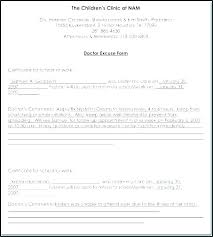School Excuse Template Excuse Note For School Template Listoflinks Co
