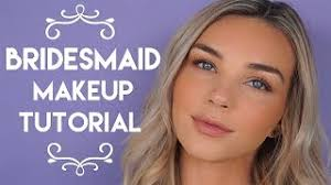 bridesmaid makeup tutorial tarte talk