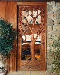 unique front doorsWood Glass Entry Doors From Unique Front Doors