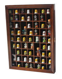 59 95 59 thimble display case shadow box wall rack cabinet with glass door tc01other vintage