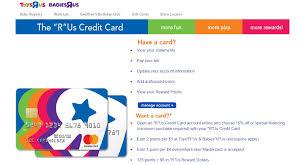 synchrony credit card toys r us toywalls