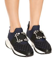 Viv Collection Size Chart Viv Run Strass Buckle Sneakers