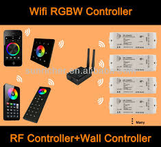 home automation wifi rgbw light control