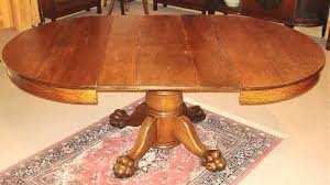 round table feet claw foot dining table image 1 antique tables with feet square