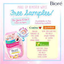biore msia is having their makeup remover wipes sle giveaway enjoy great offers with free makeup remover wipes sleany more
