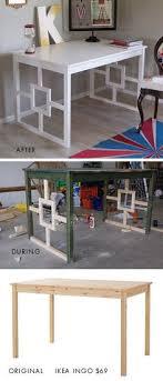 decorate furniture. IKEA Ingo Dining Table To Desk Makeover Decorate Furniture I