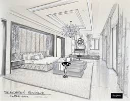 Lisa Hochstein Shares Interior Design Drawings From Her New Home