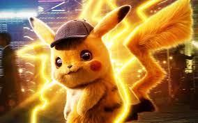 Herunterladen hintergrundbild pikachu, 4k, pokemon detective pikachu, 2019,  film, fan-kunst, pummeliges nagetier, ein detective pikachu mit einer  auflösung zu überwachen 3840x2400. Bilder auf dem desktop