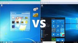 Windows 7 Editions Chart Comparing Windows 10 To Windows 7