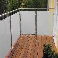safe solid ss glass railing balcony frameless glass balcony railing pr