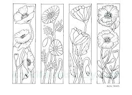 Bookmark Coloring Pages Bookmarks Coloring Pages