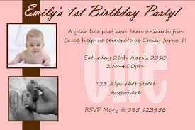 Personalised Birthday Invitations For Kids Personalised Birthday Photo Invitations Girl Design 3