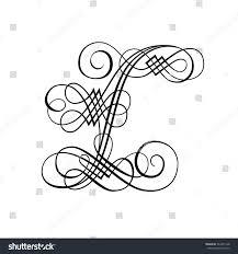 Stock Vektory Na Téma Decorative Letter L Bez Autorských Poplatků