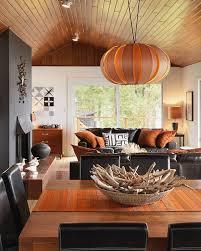 Burnt Orange And Brown Living Room Concept Best Design