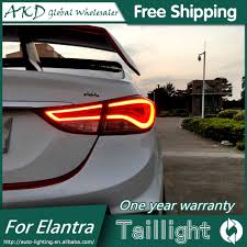 Hyundai Elantra 2012 Brake Light Akd Car Styling For Hyundai Elantra Tail Lights 2012 2016