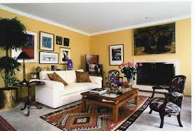 Yellow Wall Living Room Decor Cool Design House Painting From Outside Dousuke Painting Outside