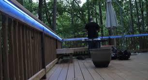 led deck rail lights. How To Install LED Deck Lighting - 2 Led Rail Lights N
