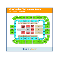 Mcnease Convention Center Seating Chart Rosa Hart Theatre Lake Charles Civic Center Events And