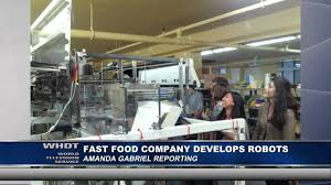 fast food maker fast food company develops robots youtube