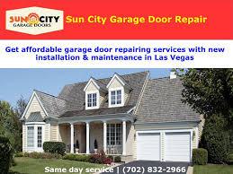 garage door repair company powerpoint ppt presentation