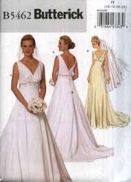 Simplicity Wedding Dress Patterns Simple Vogue Wedding Dress Patterns FS48 Marfy Dress Bridal Vogue