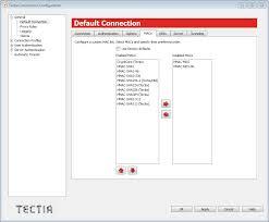 defining general settings tectia acirc reg client  defining a mac list