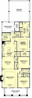 house plan 041 00078 narrow lot plan