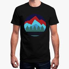 Fashion Funny Colorado T Shirt Cool Round Neck Tshirt Mens Solid Color Euro Size T Shirt For Men Male Tops Camisas Negras Designer White Tee Shirts
