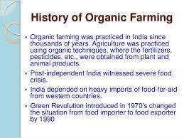 organic farming 3 4 history of organic farming