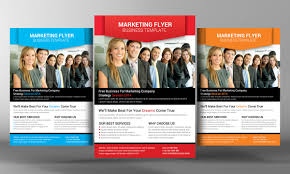 Marketing Flyer Marketing Flyer Template By Business Templates On Creative Market 21