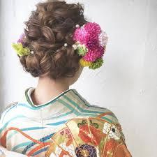前撮りにもおすすめ 着物に似合うおしゃれでかわいい和風ヘアスタイル