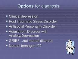 holden caulfield patient file psychological evaluation an  3 options for diagnosis  clinical depression  post traumatic stress disorder
