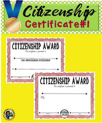 What Is A Citizenship Award Magdalene Project Org