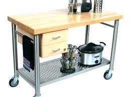 kitchen cart utility ideas rolling trolley island ikea butcher block