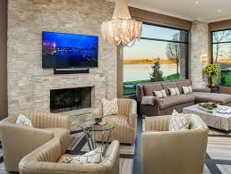 this taco quartz tile fireplace is warm and inviting image arjay builders