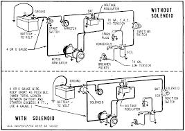starter generator wiring diagram kwikpik me where do the wires go on a starter solenoid at Starter Wiring Diagram