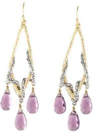 pre owned at therealreal alexis bittar maldivian amethyst crystal chandelier earrings