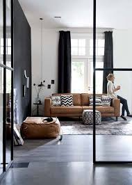 Leather sofa living room Contemporary 32 Interior Designs With Tan Leather Sofa decorate Pinterest 32 Interior Designs With Tan Leather Sofa decorate Interior