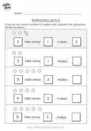 simple subtraction worksheets for kindergarten 17 sample addition ...